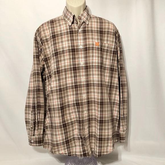 Cinch Men's Button Up Dress Shirt Medium